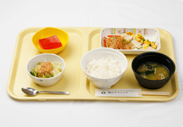 定食(1食531円)